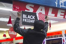 black friday sale signs stores will start opening at midnight for black friday daily