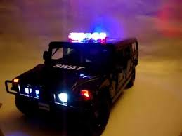 toy police cars with working lights and sirens for sale swat hummer police car with working lights youtube