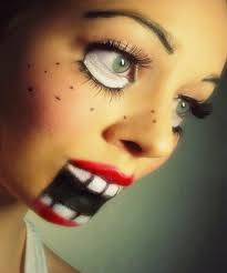 Creepy Doll Costume Creepy Doll Halloween Makeup The9gag Com