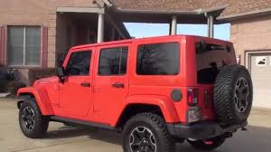 Hd Video 2015 Jeep Wrangler Unlimited Rubicon Hard Rock Hemi