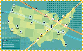 Chicago To Atlanta Map by Should You Go To Southern Illinois To See The Total Solar Eclipse