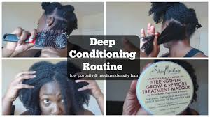 Deep Conditioner For Color Treated Hair Deep Conditioning 4a B Low Porosity U0026 Medium Density Hair Youtube