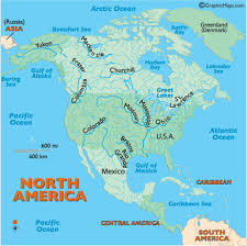 rivers in north america north american rivers major rivers in