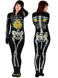Pajama Halloween Costume Ideas I Must Have One Sugar Skeleton Footed Pajamas Plasticland
