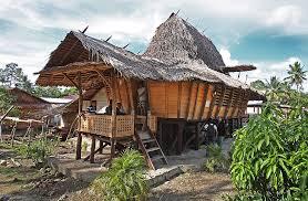 traditional house north nias tourism anaoma house