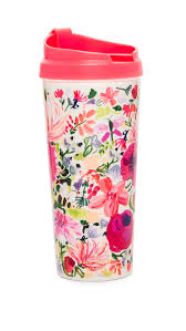 Kate Spade Home by Kate Spade New York Dahlia Thermal Mug Pink Multi Women