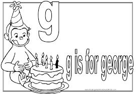 kindergarten worksheets curious george