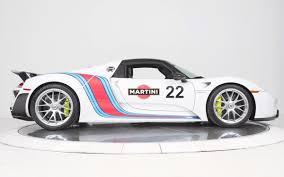 Porsche 918 Old - martini liveried porsche 918 spyder could be yours insidehook