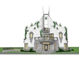 beautiful castle house plans plan kinan is a fairy tale with design