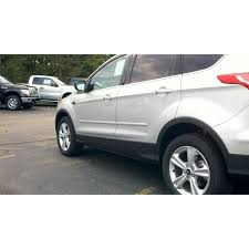 Ford Escape 2013 - ford escape 2013 painted body side moldings spoiler and wing king