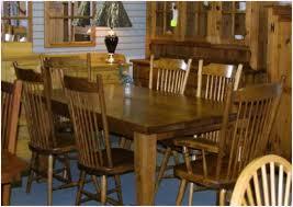 mennonite furniture kitchener rustic mennonite harvest barn board table chairs lloyd s
