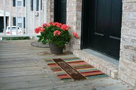 exteriors tasty creative door mats you can make yourself tuesday