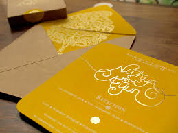 Indian Invitation Card Meet Nithya Of The Ochre Shed Wedding Invites Marigold Tales