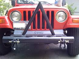 jeep stinger bumper homemade bumper o u0027 doom jeep wrangler forum