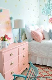 Bed Rooms For Kids by Tattered And Inked Coral U0026 Aqua U0027s Room Makeover Diy Home