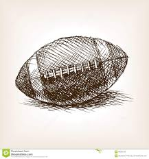 sketch of the football ball stock photography image 38631522