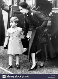 princess margaret with her nephew prince charles stock photo