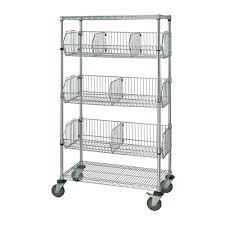 Wire Storage Unit Wire Basket Shelving Chrome Wire Shelving Racks Storage