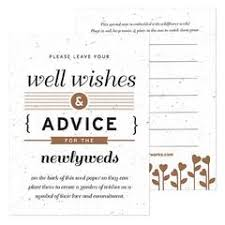 wedding well wishes cards eco friendly wedding well wishing cards