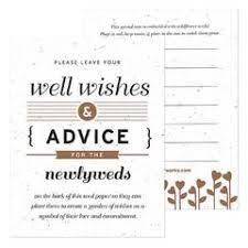 wedding well wishes eco friendly wedding well wishing cards