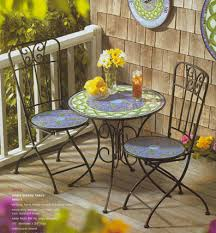 Tile Bistro Table Amazing Outdoor Cafe Table And Chairs Outdoor Bistro Table And