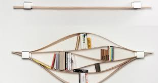 Wooden Bookshelf Chuck Flexible Wooden Bookshelf Spicytec