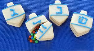 hanukkah cookies dreidel cookies
