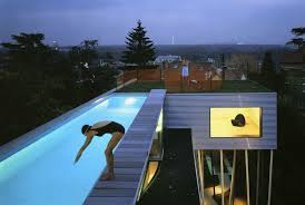 house plans with rooftop pool popular roof 2017