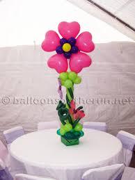 balloon centerpiece ideas balloons on the run party decorations r us balloon centerpieces