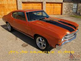 chevelle 350 auto bucket seats disc brakes new paint and interior