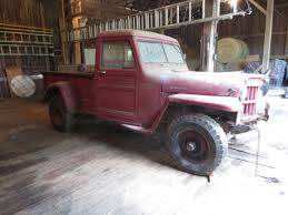 willys jeep pickup for sale barn find hanson mechanical