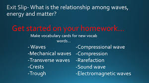 can sound travel through space images Swbat explain the relationship among waves energy and matter jpg