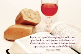 1 corinthians 10 16 illustrated the cup and the bread