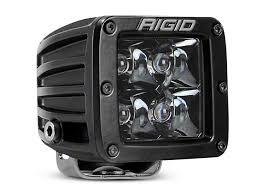 rigid industries led driving lights rigid industries wrangler d series midnight edition led cube light