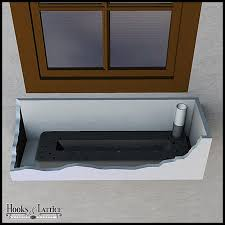 How To Make A Self Watering Planter by Self Watering Window Boxes U0026 Flower Boxes Hooks U0026 Lattice