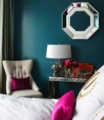 peinture chambre bleu 1001 idées pour une chambre bleu canard pétrole et paon sublime