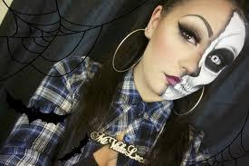 Halloween Skull Makeup Tutorial Halloween Chola Skull Makeup Tutorial Youtube