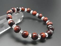 mens bracelet stones images Select a japan aaa red tiger eye men 39 s bracelet stone natural jpg