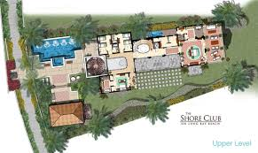 Beach House Plans Free Condo Floor Plans Shore Club Long Bay Beach Turks And Caicos
