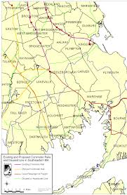 Ma Map Commuter Rail Buzzards Bay National Estuary Program