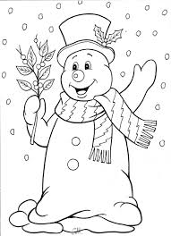 Snowman Drawing Would Like To Make A Winter Quilt Blocks Frosty Quilt Block Coloring Pages