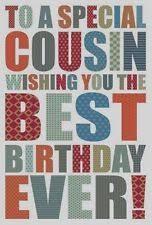 cousin male birthday cards ebay