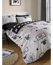 Betty Boop Duvet Set Pug Walkies King Size Duvet Cover Bedding Bedroom