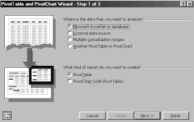 Creating A Pivot Table In Excel Excel 2000 To 2003 For Beginners How To Create A Pivot Table