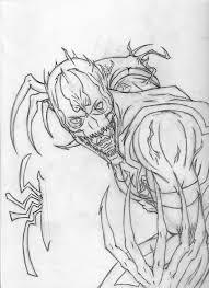 anti venom epic sketch by orionstarb0y on deviantart