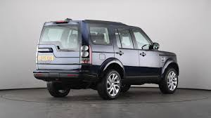 blue land rover discovery used land rover discovery 3 0 sdv6 hse 5dr auto blue ld65xug