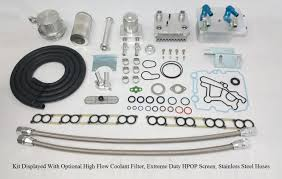 ipr external oil cooler kit for ford 6 0 powerstroke