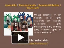unique selection of gift baskets cookie gifts corporate gift