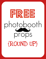 halloween photo booth props printable pdf round up free printable photobooth props creative juice