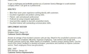 Good Skills On Resume Customer Service Skills Examples For Resume How To Write Customer